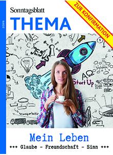 Cover des Buches SONNTAGSBLATT THEMA: Konfirmation – Mein Leben