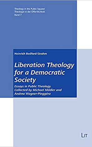 Cover des Buches Heinrich Bedford-Strohm: Liberation Theology for a Democratic Society