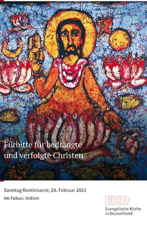 Cover des Buches Evangelische Kirche in Deutschland (EKD): Fürbitte für bedrängte und verfolgte Christen. Sonntag Reminiszere, 28. Februar 2021