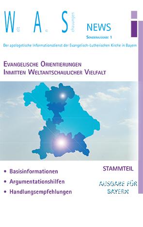 Cover des Buches Weltanschauungen News Sonderausgabe 1: Evangelische Orientierungen inmitten weltantschaulicher Vielfalt