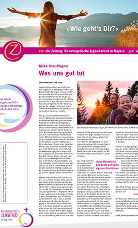 Cover des Buches Amt für Jugendarbeit: zett die Zeitung für evangelische Jugendarbeit in Bayern: