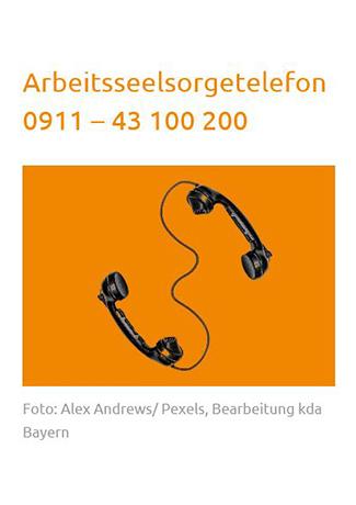 Cover des Buches Kirchlicher Dienst in der Arbeitswelt:: Arbeitsseelsorgetelefon