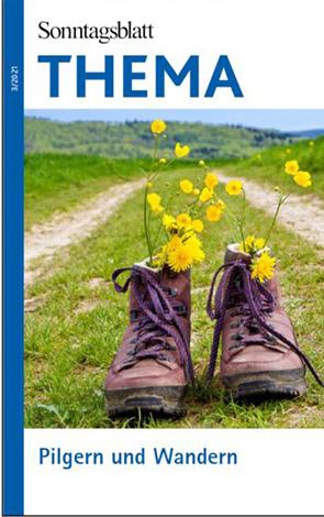 Cover des Buches SONNTAGSBLATT THEMA: Pilgern und Wandern