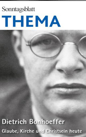 Cover des Buches SONNTAGSBLATT THEMA: Dietrich Bonhoeffer 2020