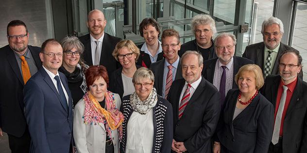 Landessynodalausschuss Gruppenbild 2016